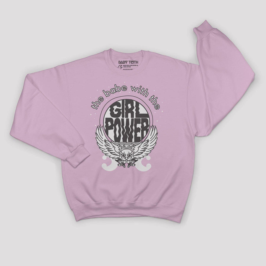 """Babe With The Power"" Fleece Sweatshirt for Kids"