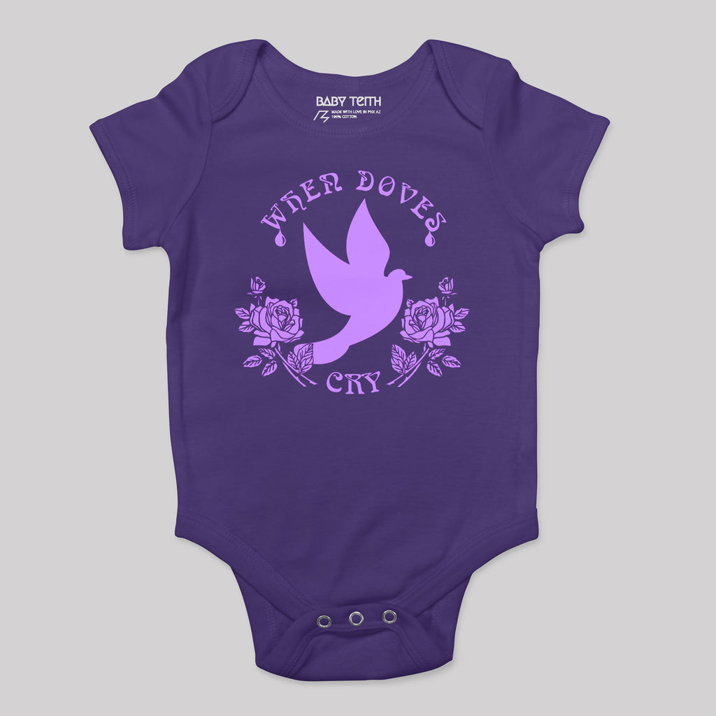 When Doves Cry Baby Bodysuit (2 colors)