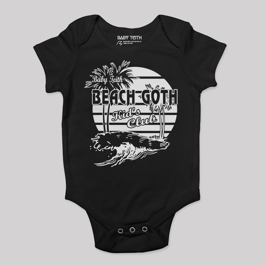 Beach Goth Kids Club Baby Bodysuit