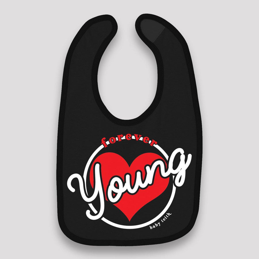 Forever Young Baby Bib (Two Colors)