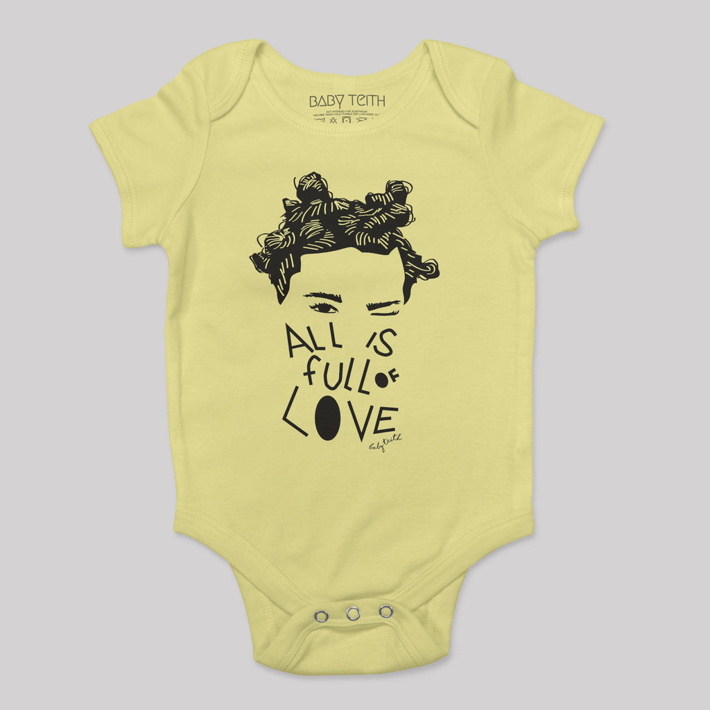 """All is Full of Love"" Bodysuit"