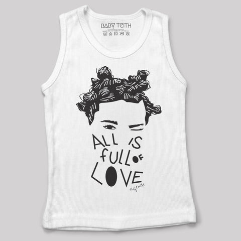 """All is Full of Love"" Tank for Kids and Babies"