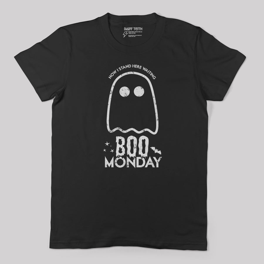 Boo Monday Halloween Unisex Adult Tee
