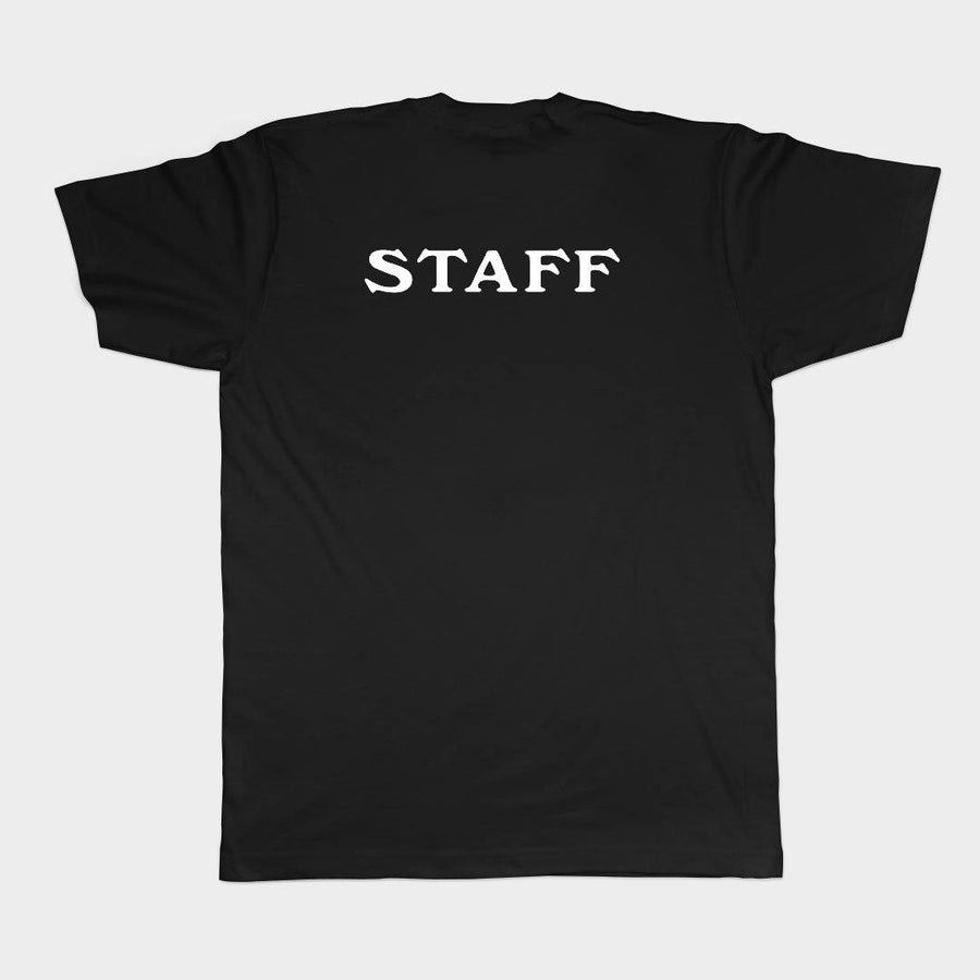 Camp Post Punk Staff Tee for Adults