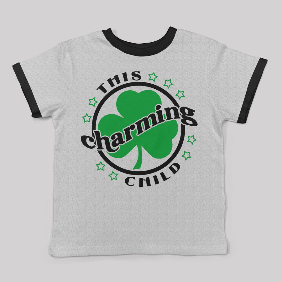 "Limited Edition - ""This Charming Child"" Ringer Tee for Toddlers"