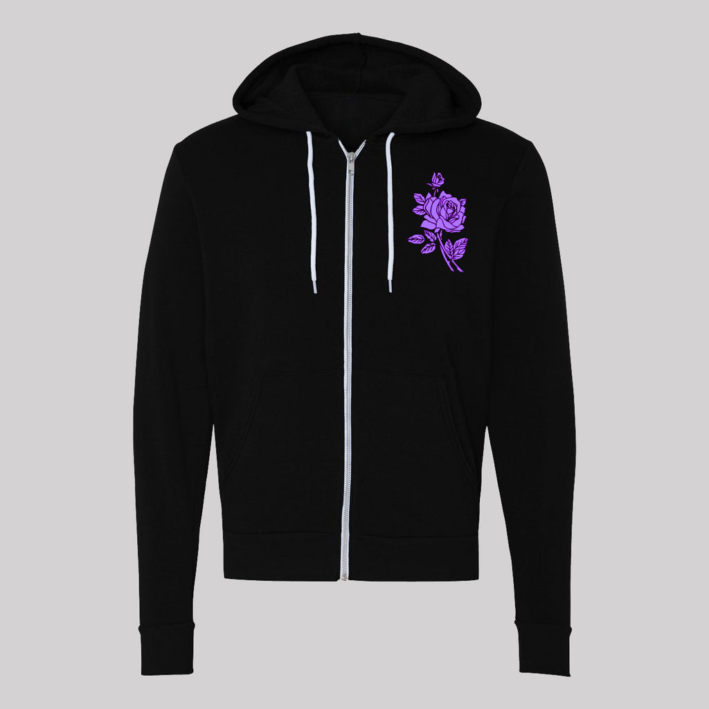 When Doves Cry Unisex Zip-Up Hoodie (2 colors)