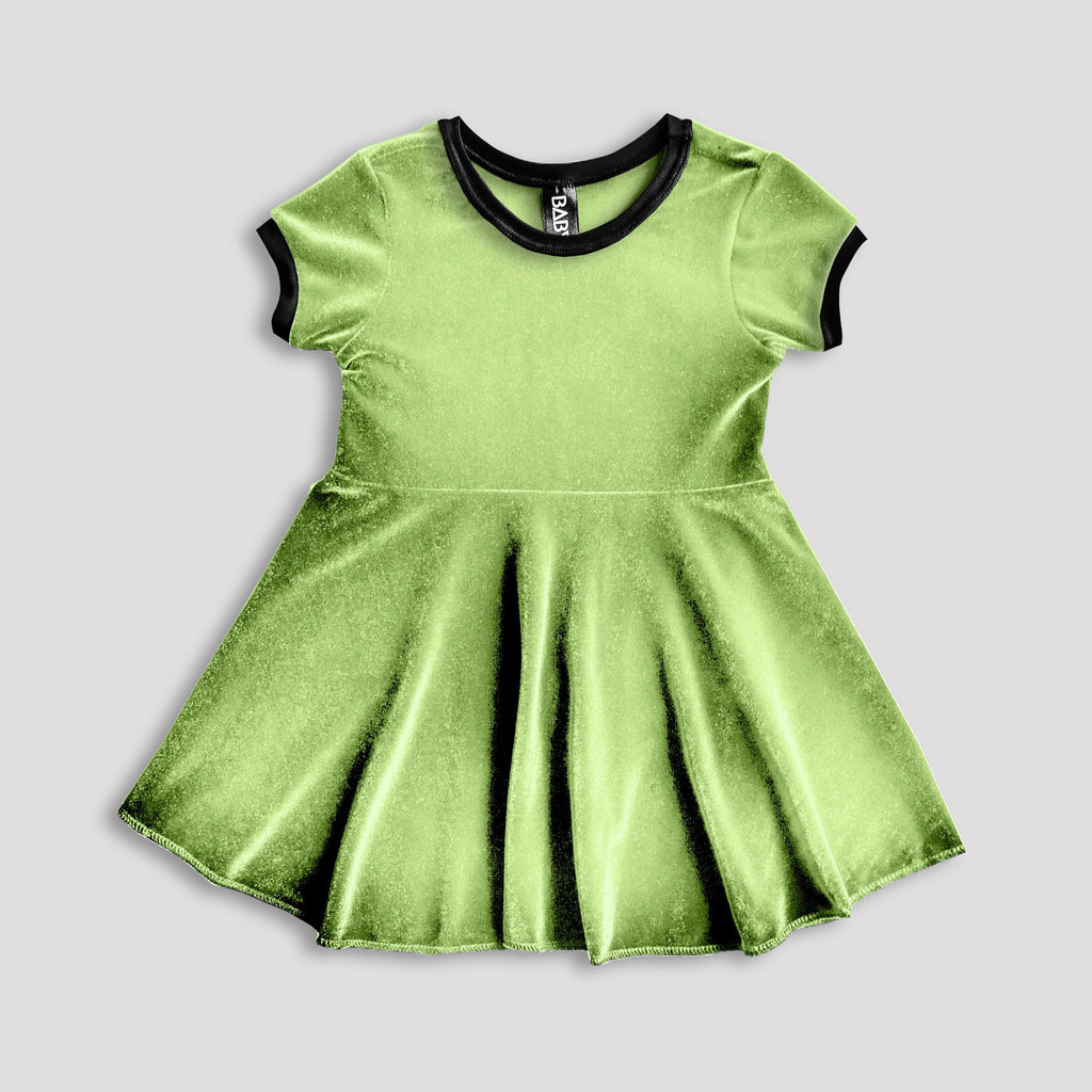 6ef451642c4a Elf Green Velvet Dress for Babies and Kids – Baby Teith