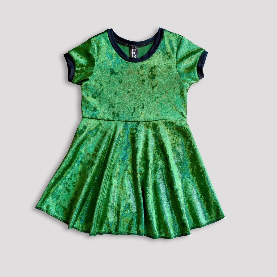 The Emerald City Skater Dress for Girls