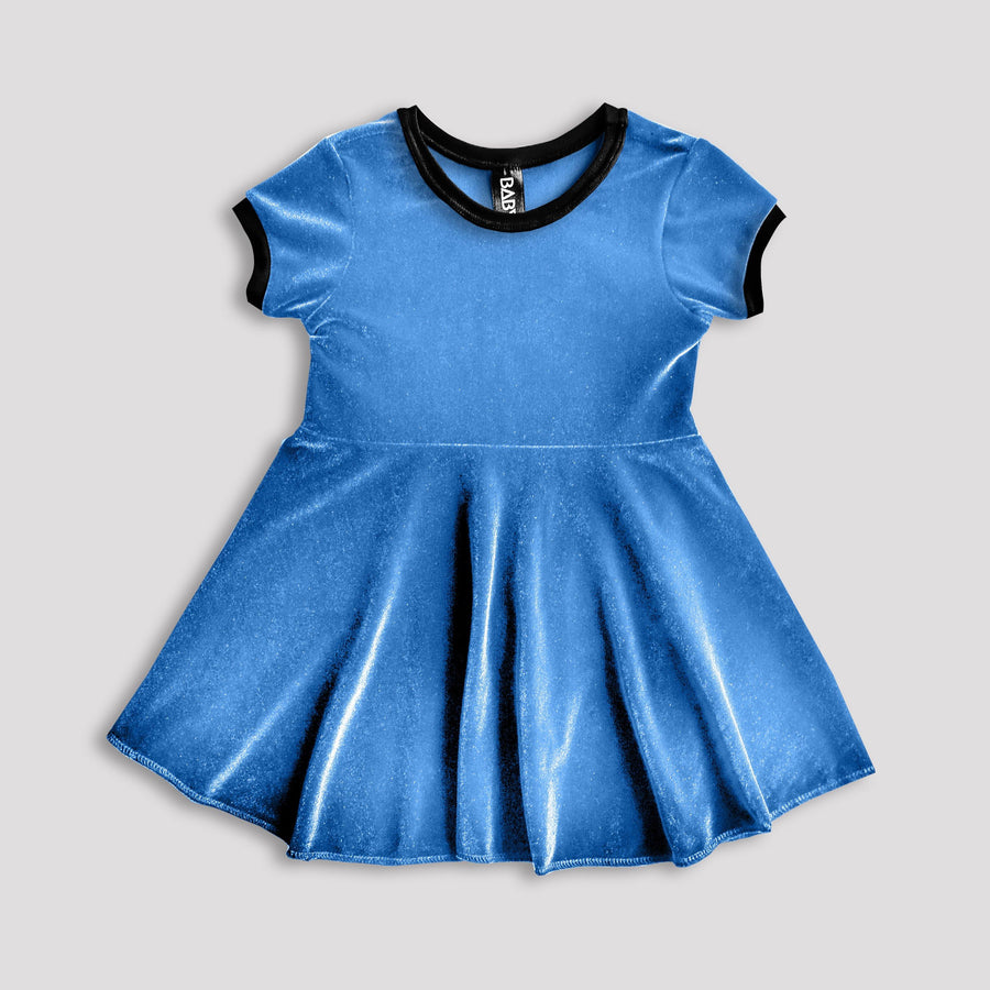 Snow Queen Velvet Dress