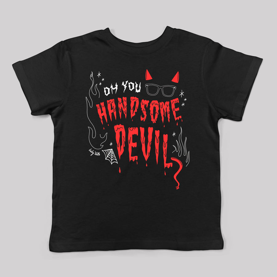 Handsome Devil Halloween Kids Tee