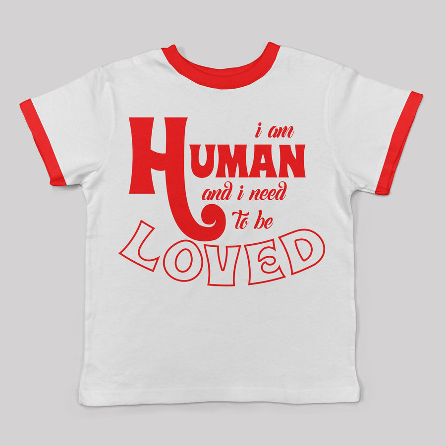 """I am Human"" tee for Kids and Babies"
