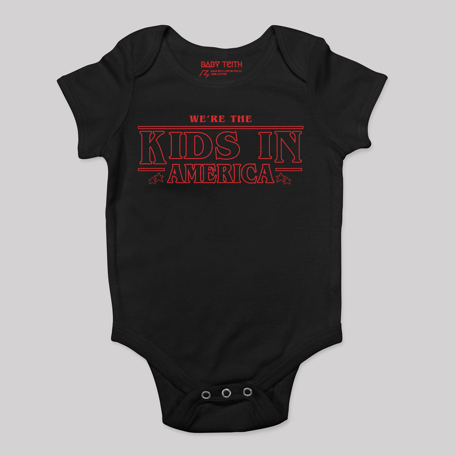Kids in American Baby Bodysuit (2 Colors)