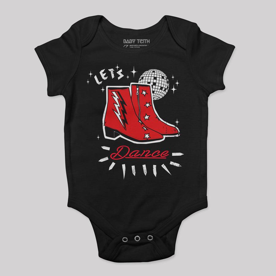 """Let's Dance"" Bodysuit for Baby - Baby Teith"