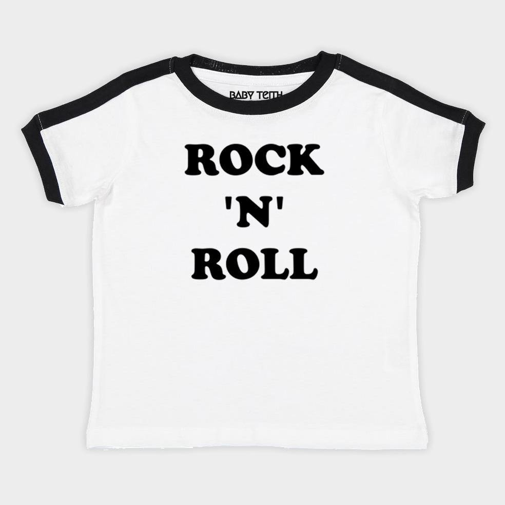 Rock 'N' Roll Kids Ringer Tee