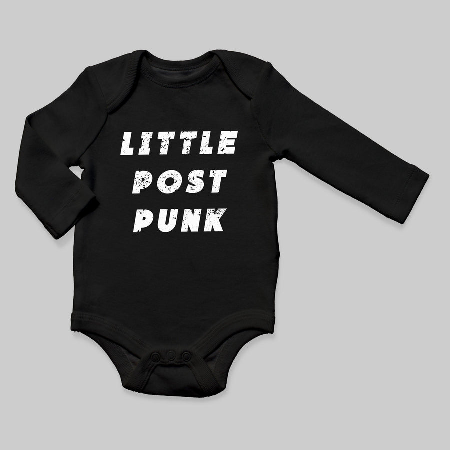 """Little Post Punk"" Long Sleeve Bodysuit - Baby Teith"