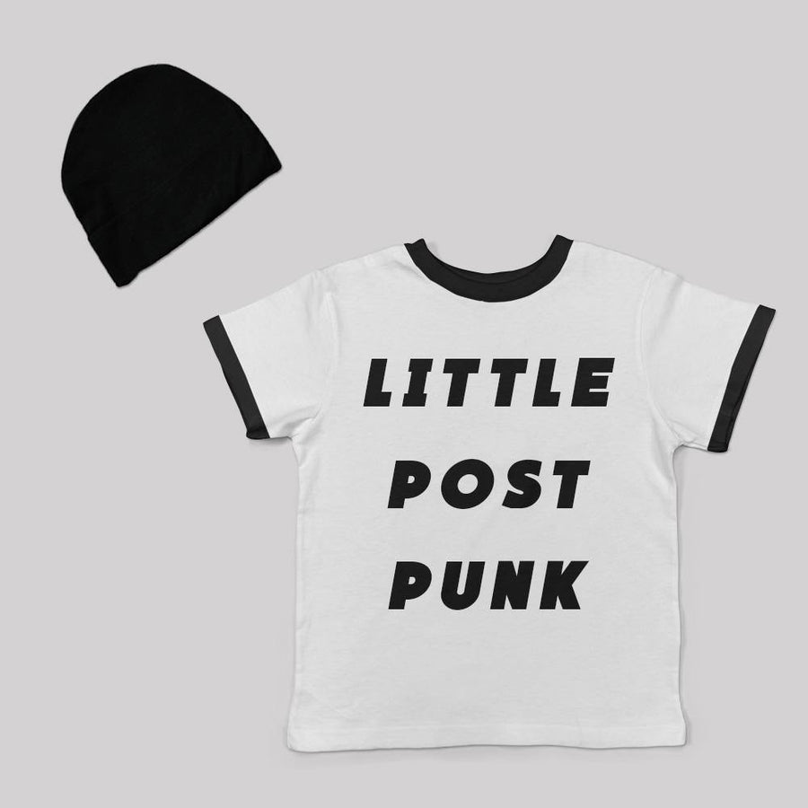 """Little Post Punk"" tee for babies"