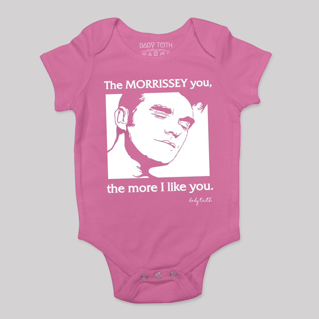 """The Morrissey You the More I like You"" Bodysuit for Babies"