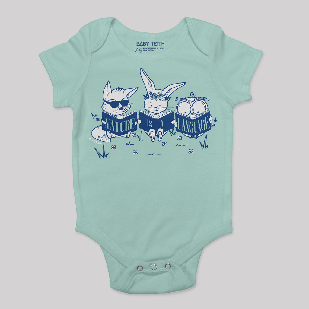 Nature is a Language Baby Bodysuit (5 Colors)