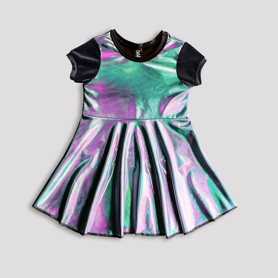 Industrial Oil Slick Dress for Kids *LIMITED BATCH*