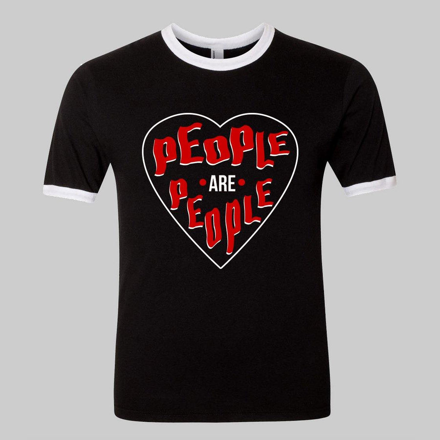 """People are People"" Synth Tee Inspired by Depeche Mode for Adults"