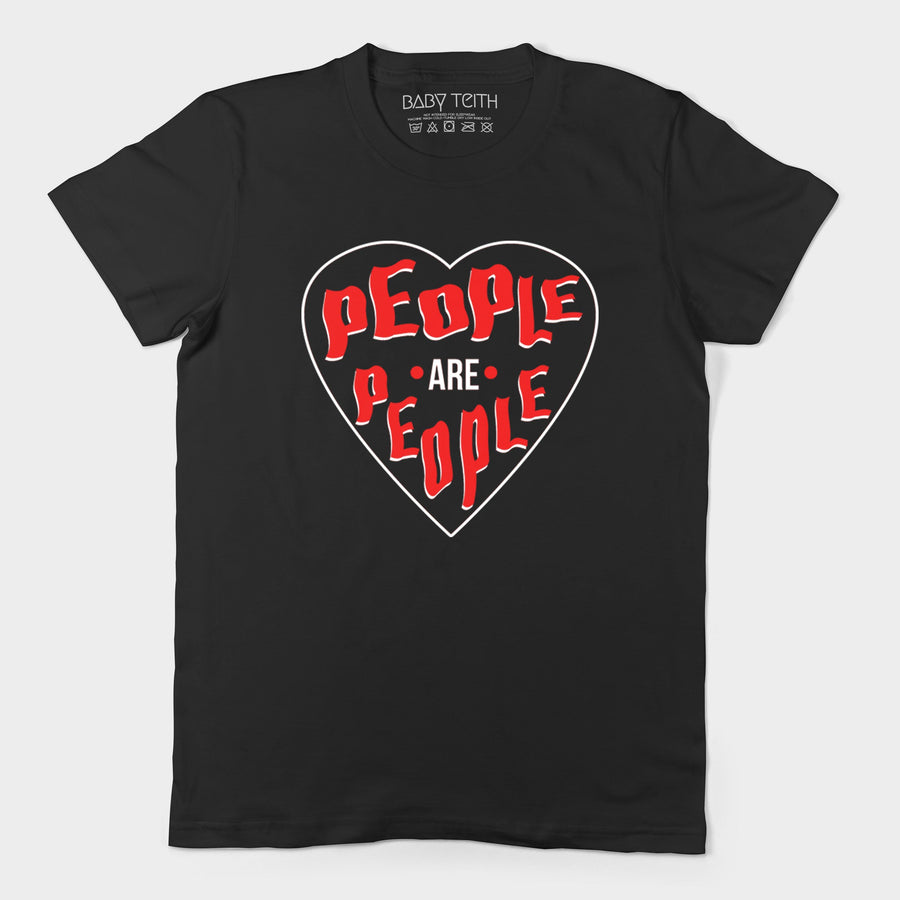 """People Are People"" Tee Inspired by Depeche Mode for Adults - Baby Teith"