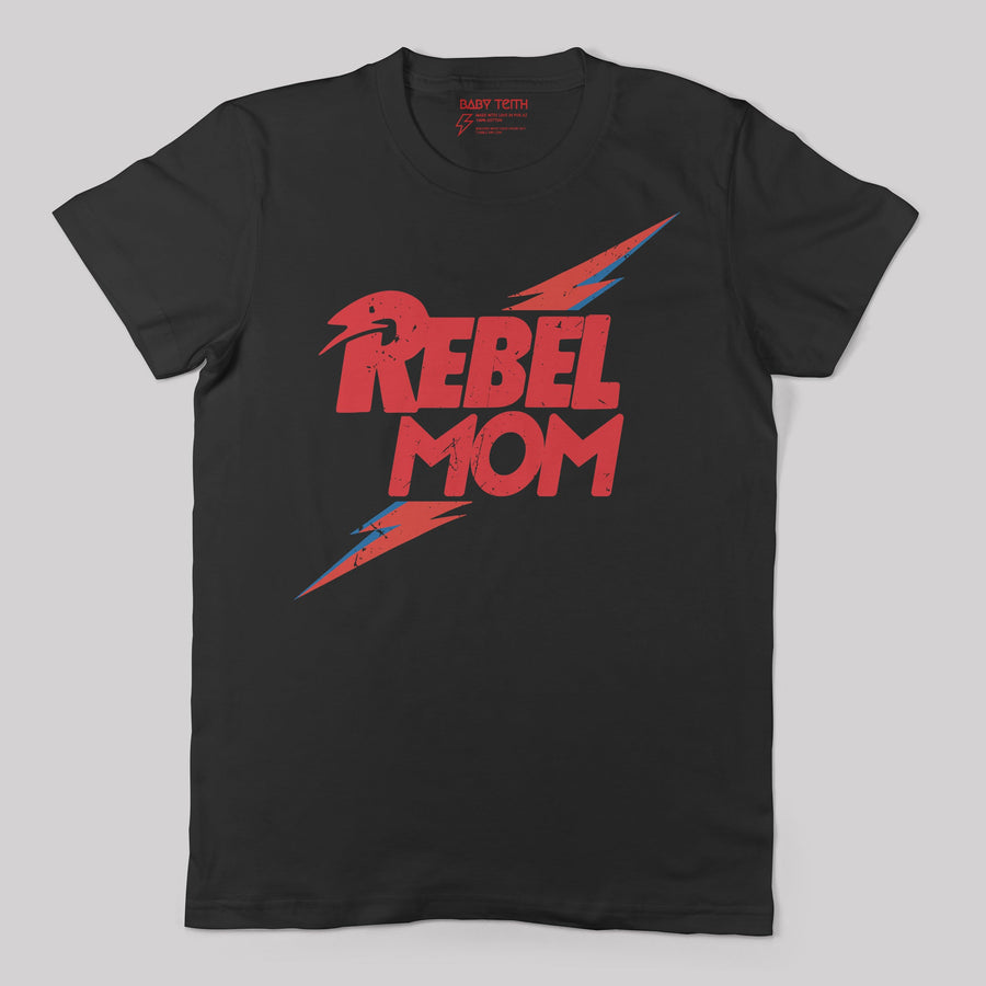 Rebel Mom Tee - Unisex Fit (2 Colors) - Baby Teith