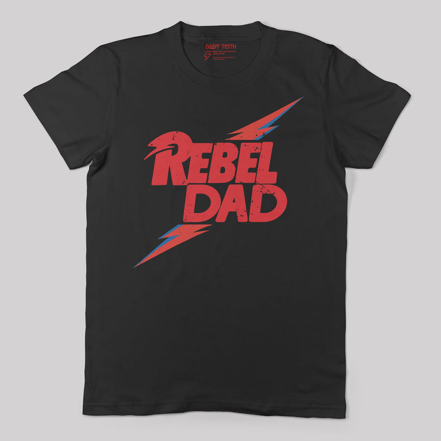 Rebel Dad Tee - Unisex Fit (2 Colors) - Baby Teith