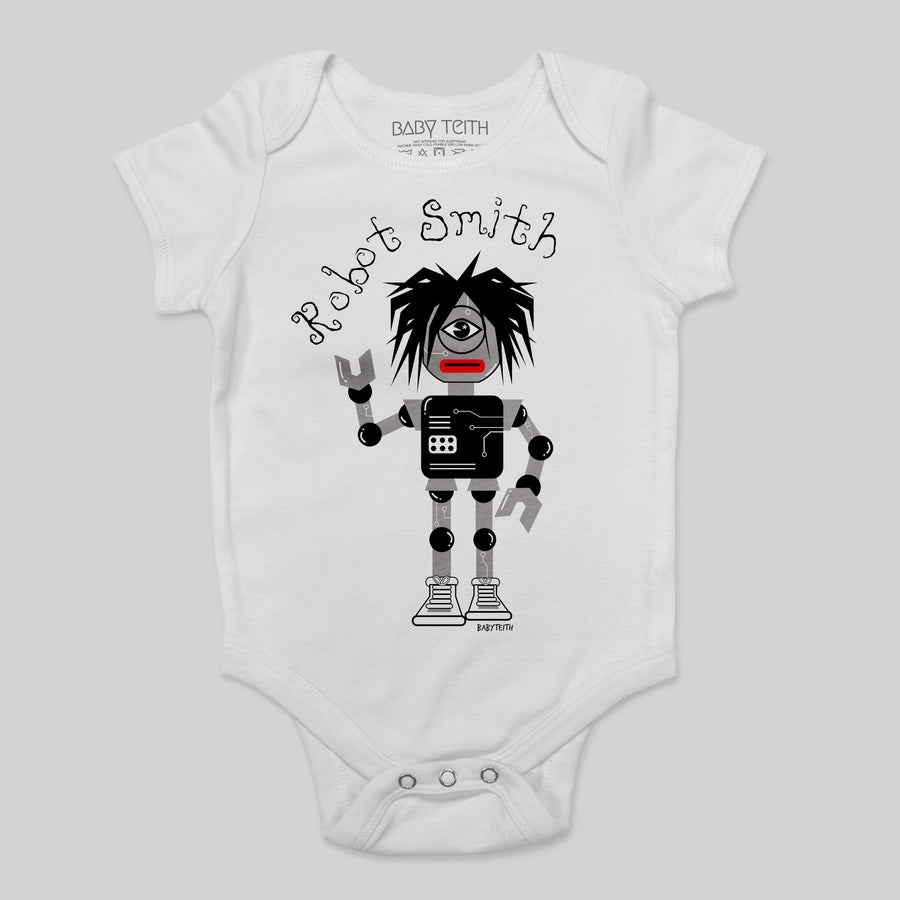 Robot Smith Baby Bodysuit
