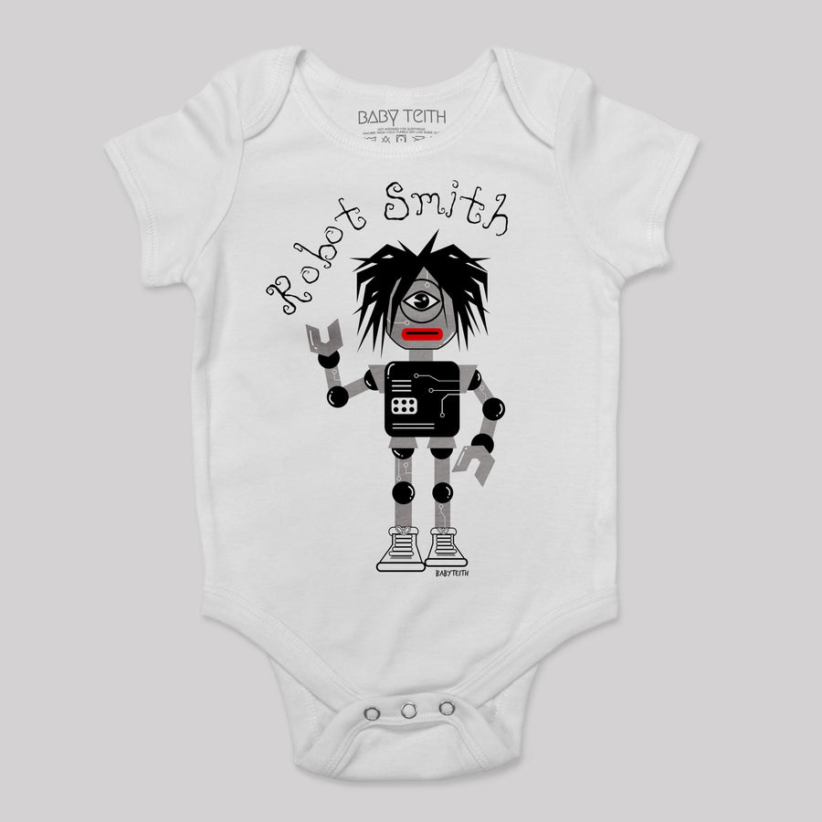 """Robot Smith"" Bodysuit for Babies inspired by the Cure"