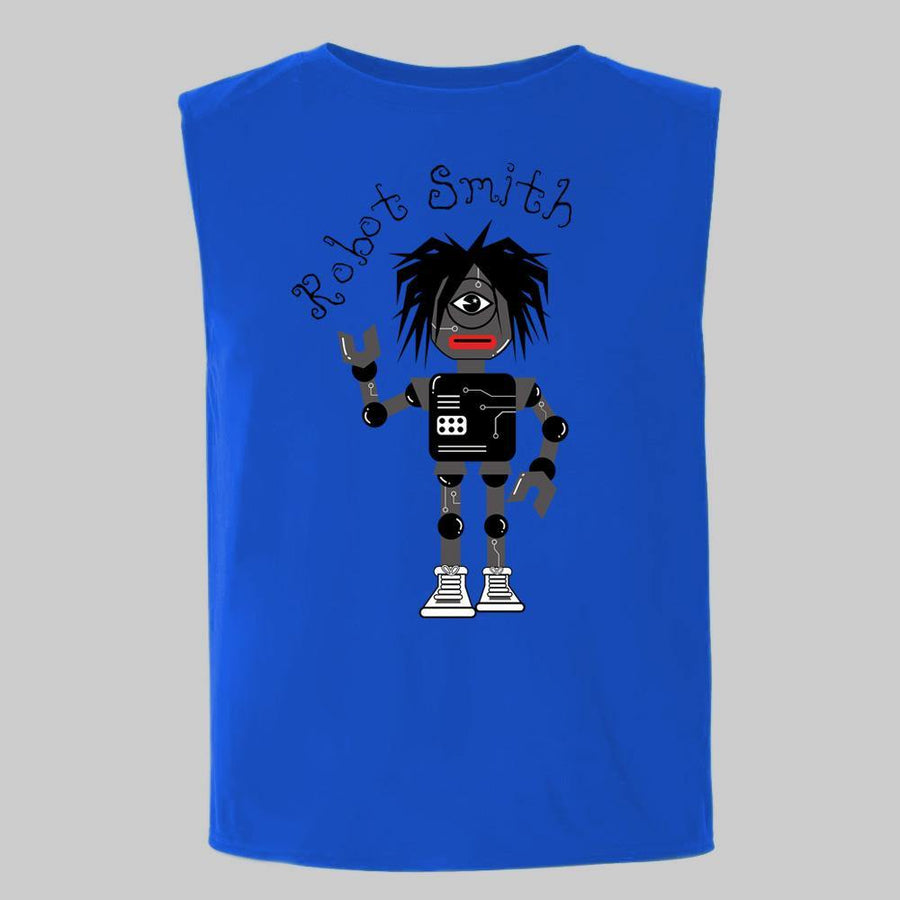 """Robot Smith"" Sleeveless Tee for Kids"