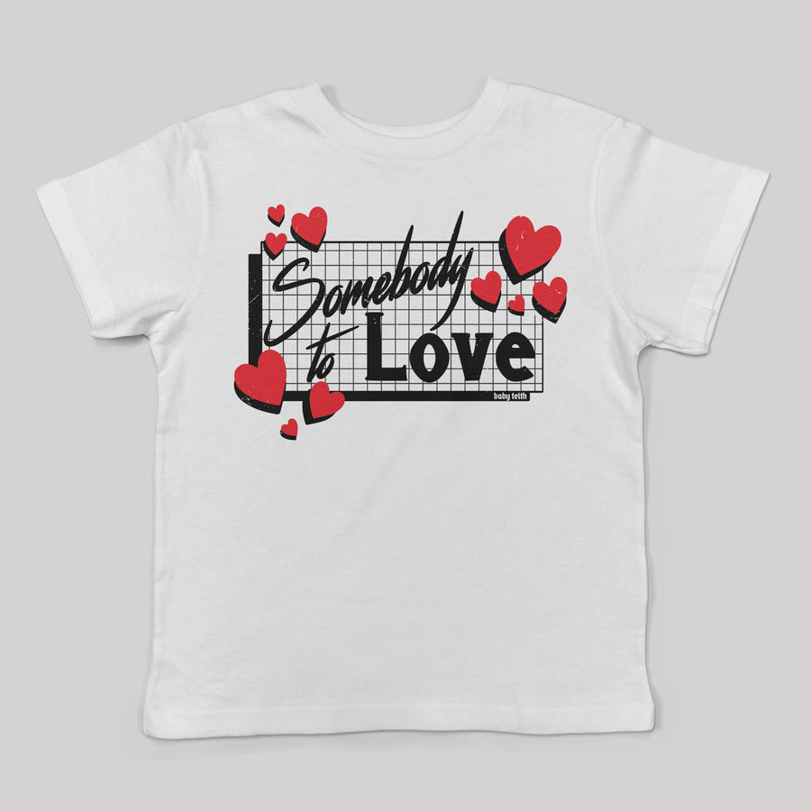 """Somebody to Love"" 80's Tee for Kids"