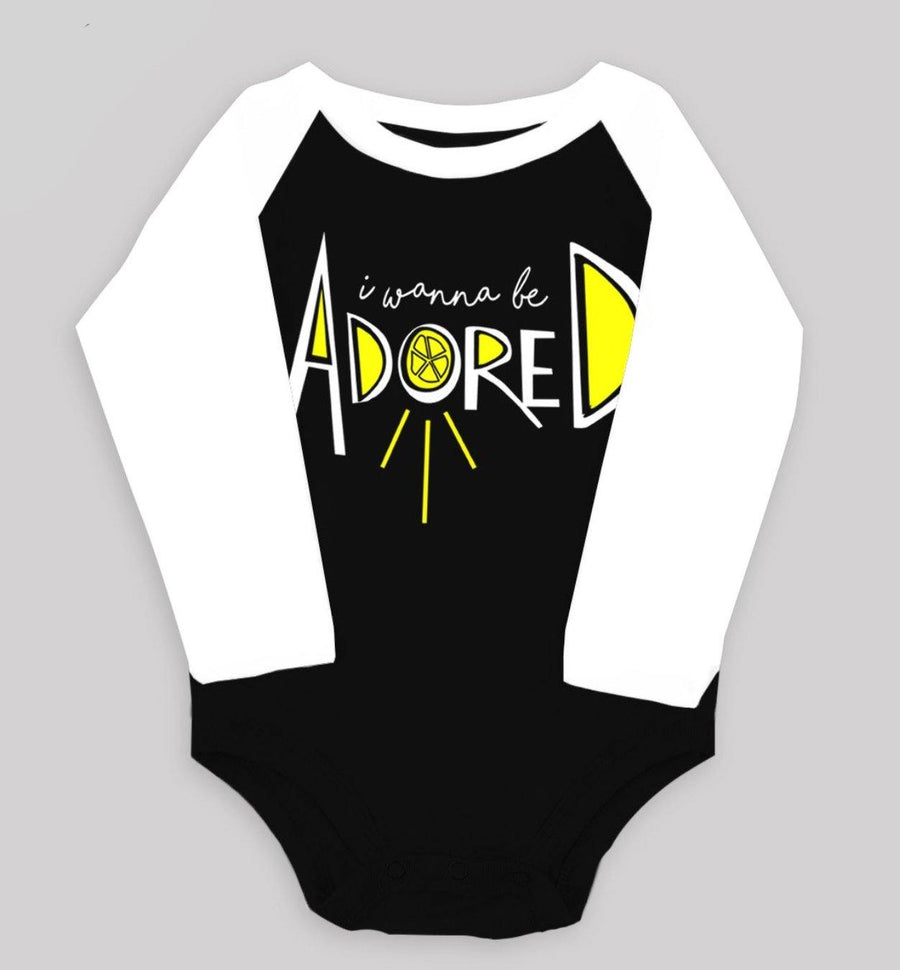 """I Wanna Be Adored"" Raglan Bodysuit"