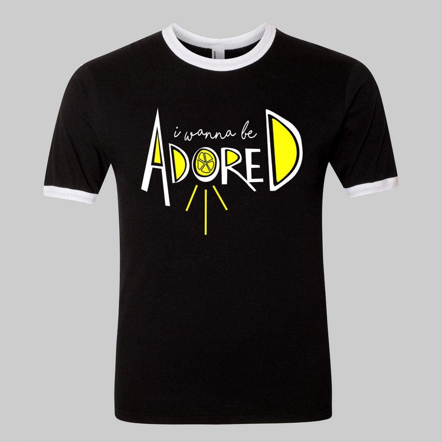 """I Wanna Be Adored"" The Stone Roses Inspired Tee for Adults"