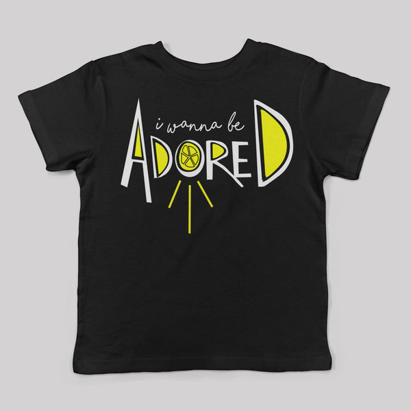"""I Wanna Be Adored"" The Stone Roses Inspired Kids Tee"