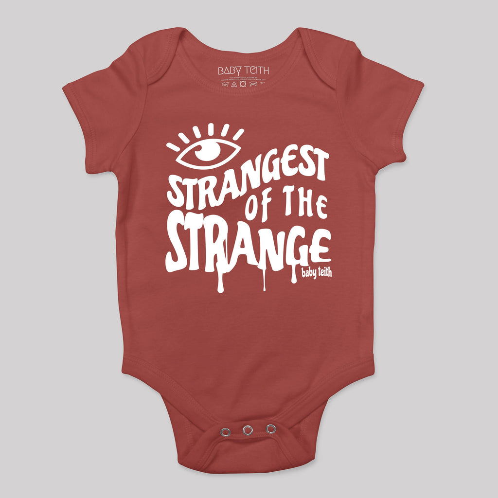 """Strangest of the Strange"" Baby Bodysuit"