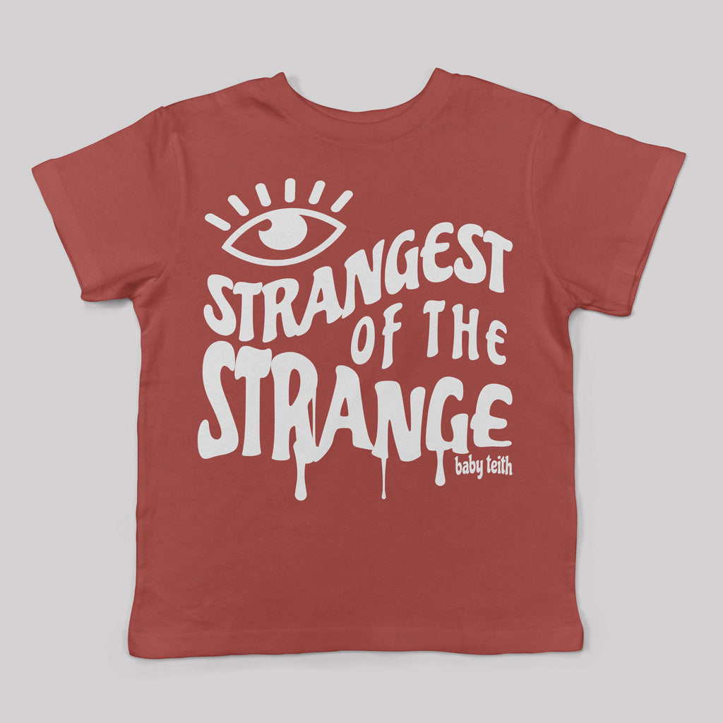 """Strangest of the Strange"" Tee for Kids"
