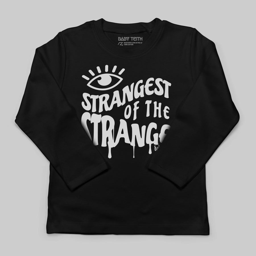 """Strangest of the Strange"" Long Sleeve Tee for Kids"