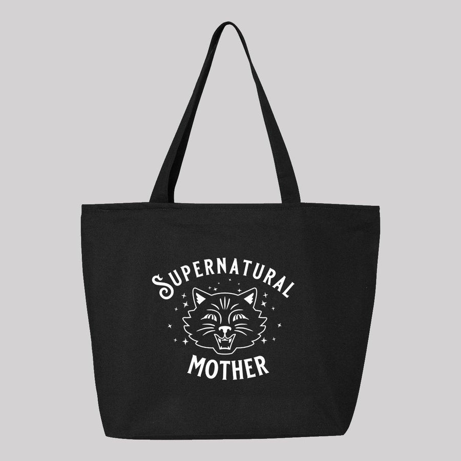 Supernatural Mother Cat Canvas Tote Bag