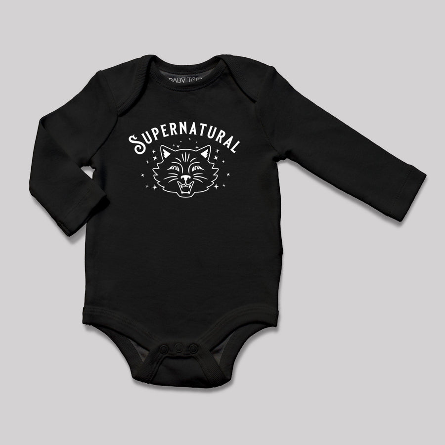 Supernatural Long Sleeve Baby Bodysuit
