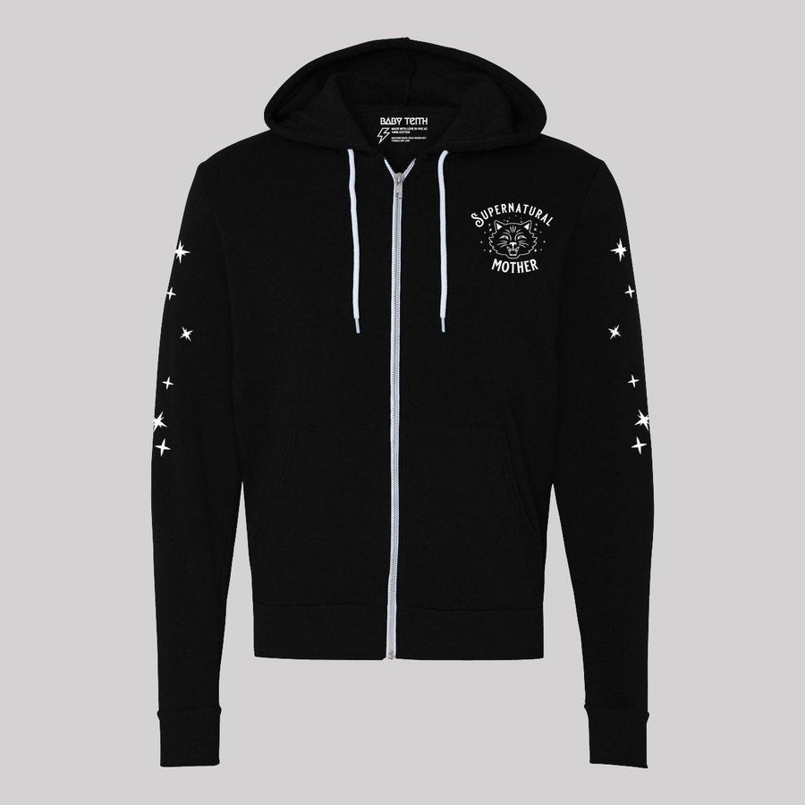 Supernatural Mother Cat Zip-Up Hoodie