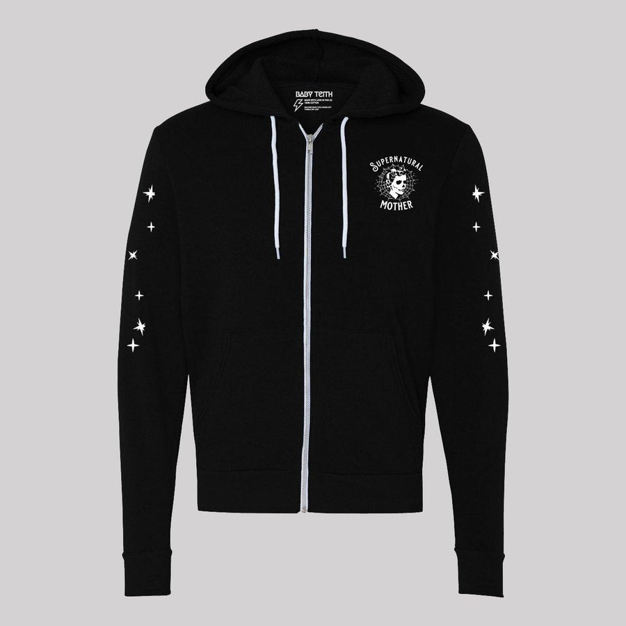 Supernatural Mother Zip-Up Hoodie - Baby Teith