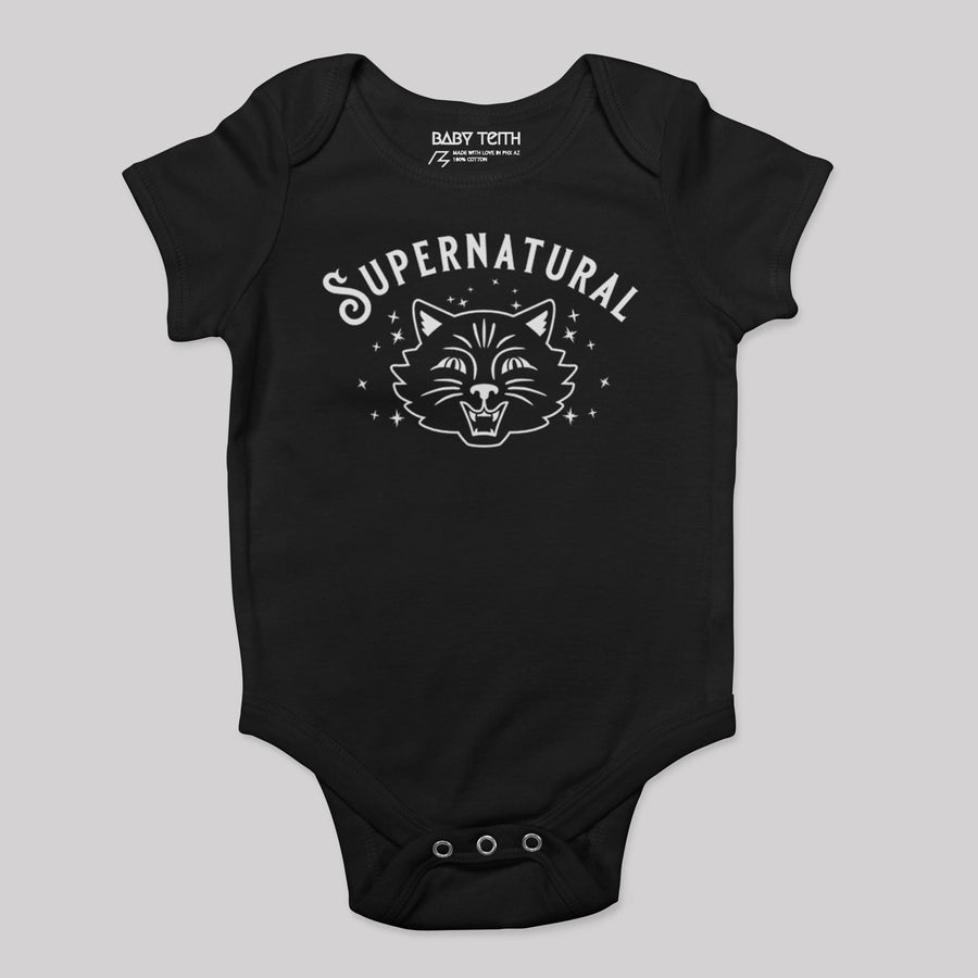 Supernatural Baby Bodysuit - Baby Teith