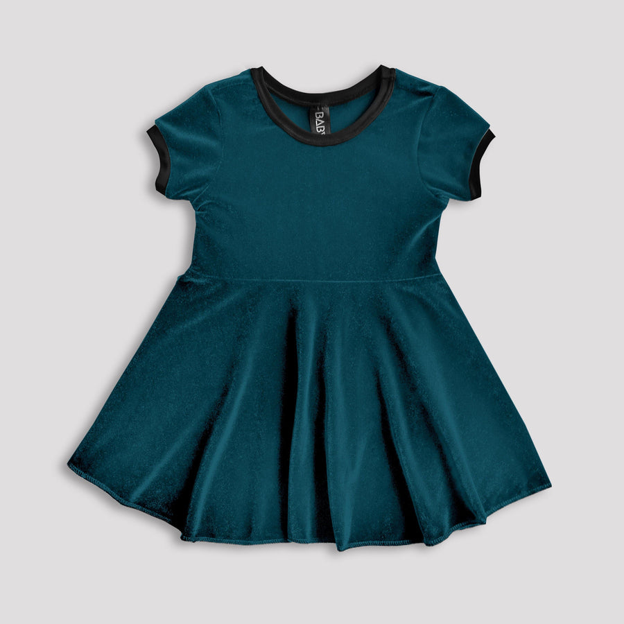 Vapour Trail Velvet Dress (Limited Available)