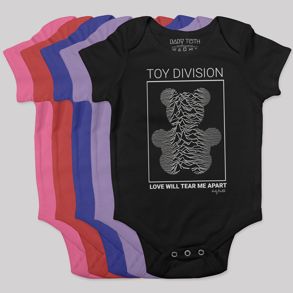 """Toy Division"" Bodysuit for Babies - Baby Teith"