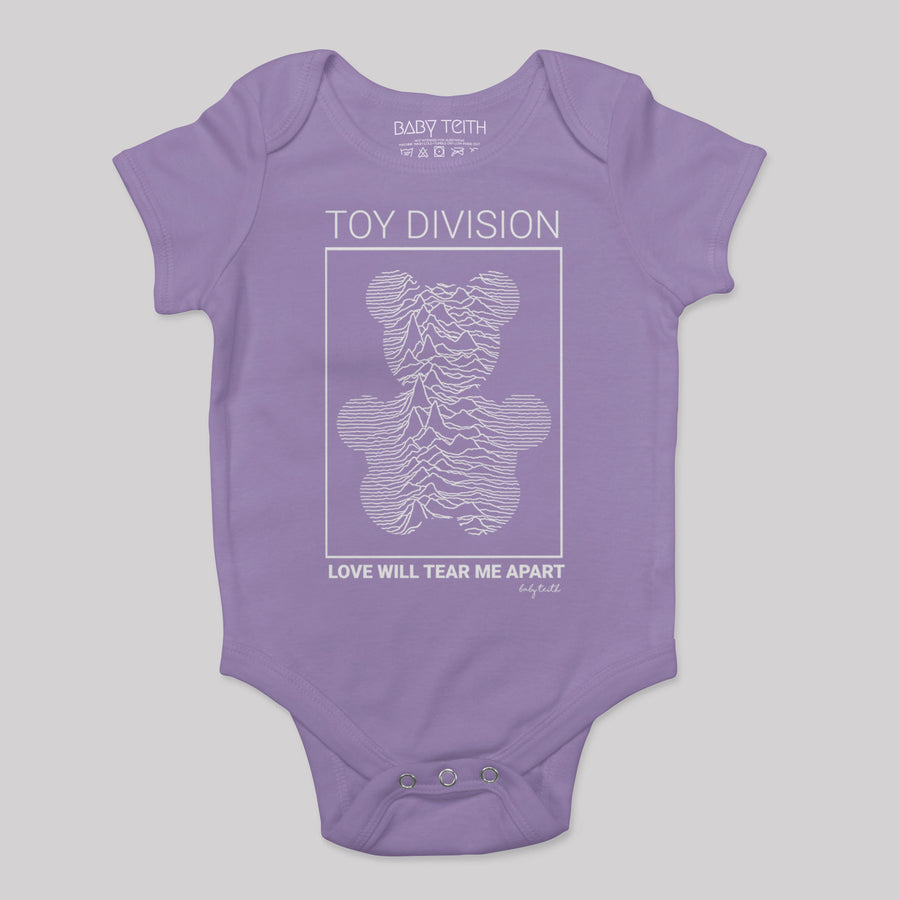 """Toy Division"" Bodysuit in Lavender"