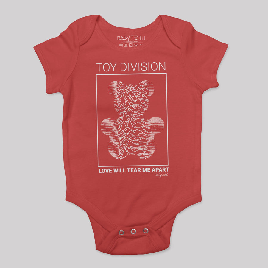 """Toy Division"" Bodysuit for Babies"