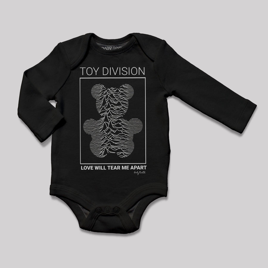 """Toy Division"" Long Sleeve Bodysuit - Baby Teith"