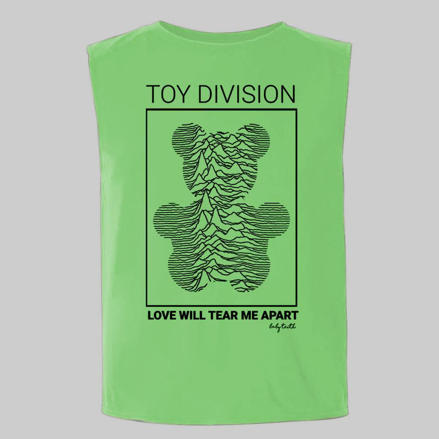 """Toy Division"" Sleeveless Tee for Kids"