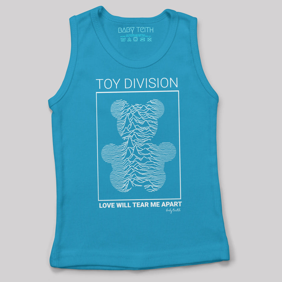 """Toy Division"" Tank for Kids and Babies in Turquiose"