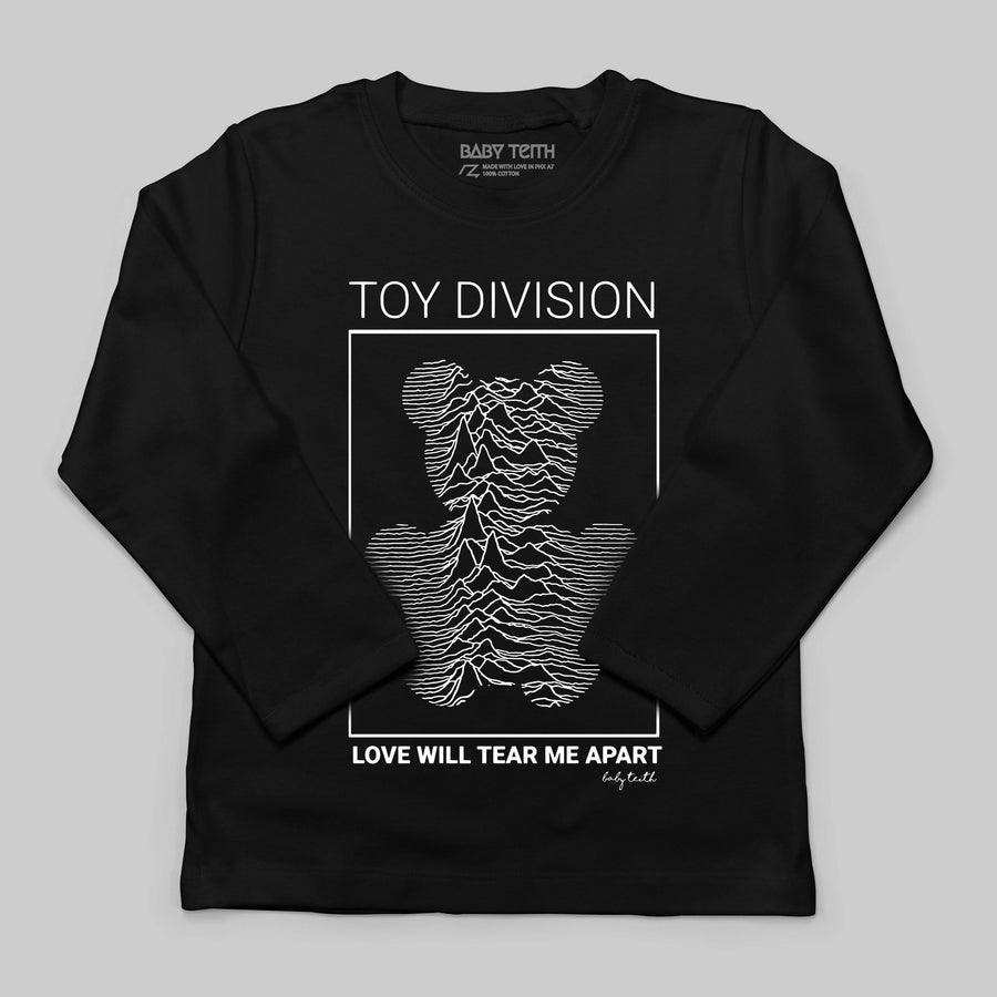 """Toy Division"" Long Sleeve Tee for Kids"